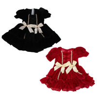 Charming Summer Pleated Skirt w/ Belt for AG American Doll 18inch Doll Dress Up