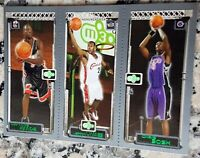LEBRON JAMES 2003-04 Topps Matrix Triple Rookie Card RC Cavaliers Wade Bosh MVP