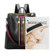 Women Girls Leather PU Backpack Travel School Backpack Laptop Fashion Rucksack