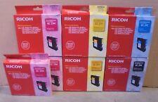 10 RICOH GC 21K 21C 21Y 21M Tintenpatronen f. Aficio GX 7000 5050n 3050sfn 3000