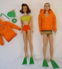 Vintage Barbie Doll Ken Midge Diver Outfit