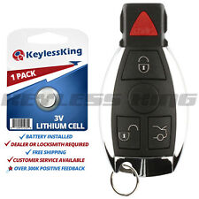 Replacement for Mercedes-Benz IYZ3312 Keyless Entry Remote Car Key Fob Control