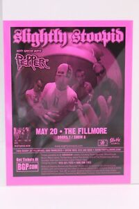 SLIGHTLY STOOPID WITH PEPPER THE FILLMORE POSTCARD FLYER