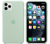 Verde berilo Apple Original genuino Funda Silicone Case para iPhone 11 Pro Max