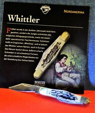 """Editions Atlas"" S.A.  3CR13  By  Whittler Clip-Point pocket knife"