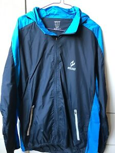 Men's Blue Cycling Windbreaker Jacket Coat By ARSUXEO-US Meduim-Wore Once