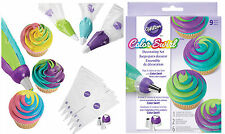 Color Swirl kit adattatore triplo con beccucci e sac a poches in blister WILTON