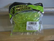 "Mr Twister 3"" Meeny Tail chartreuse silver fleck 20/pack"