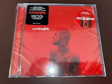 CD - JUSTIN BIEBER - Changes - Target Exclusive (includes poster) - SEALED!