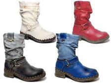 Markenlose Stiefel aus Echtleder