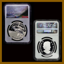 Canada 20 Dollars Silver Coin, 2015 Rainbow Trout NGC PF 70 Early Releases