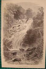 Torc Waterfall, Killarney: Cascade Ireland antique print 1892