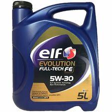 OLIO AUTO/MOTORE ELF 5W30 FULL-TECH FE 5L.