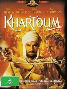 Khartoum DVD Charlton Heston Brand New and Sealed Australia