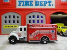 MATCHBOX FIRE FREIGHTLINER  HAZ-MAT FIELD OPERATIONS  CUSTOM KITBASH UNIT