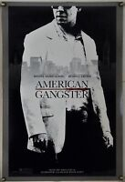 AMERICAN GANGSTER DS ROLLED ADV ORIG 1SH MOVIE POSTER RUSSELL CROWE (2007)