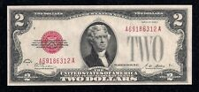 1928-A, Red Seal, Fr# 1502, $2.00 Legal Tender / U.S.Note, Key, in Choice Au!!!