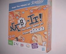 Hasbro Nab It Stolen Words Game Scrabble New NIB