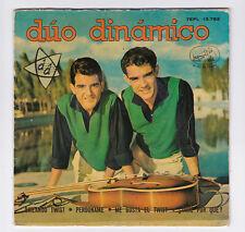 EP 45 TOURS DUO DINAMICO BAILANDO TWIST 7EPL 13.752 LA VOZ DE SU AMO