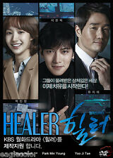 Healer Korean Drama (5DVDs) Excellent English & Quality!