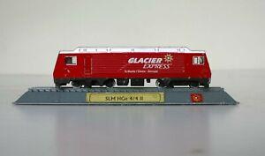 New 1:160 N Scale SLM HGe 4/4 II Locomotive Train Metal + Plastic Display Model