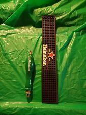 Heineken Bar ware :Pull Handle and Mat