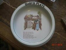 KATE GREENAWAY BABY PLATE BY RIDGWAY