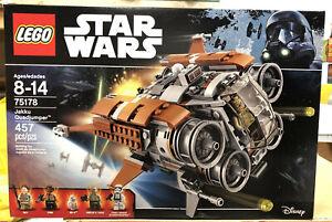 Lego 75178 Star Wars Jakku Quadjumper - Brand New Sealed