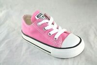 TODDLER CONVERSE 7J238 PINK LOW CANVAS CASUAL SHOE