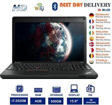 "Lenovo ThinkPad Edge E530c 15.6"" Black Laptop Intel i7 2.90Ghz 4GB RAM 500GB HDD"