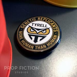 "Blade Runner - Prop Tyrell Replicants 1.25"" Button Badge / Costume Set Dressing"