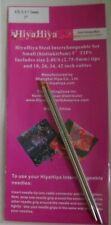 """1 Set Hiya-Hiya 5"""" Steel Interchangeable Knitting Needle Tips 3mm 2.5 Us"""