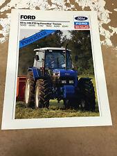 Ford 66-106 PTO hp PowerStar Tractors Brochure