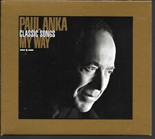 2 CD COMPIL 33 TITRES DIGIPACK--PAUL ANKA--CLASSIC SONGS - MY WAY