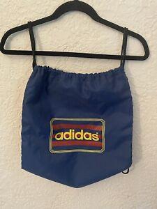 ADIDAS Navy Sackpack Sports Bag Drawstring
