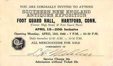 Hartford Connecticut Southern New England Antiques Expo antique pc Z22386