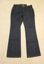 Ann Taylor LOFT Dark Wash Curvy Boot Contoured Cut Jeans Size 4 NWT