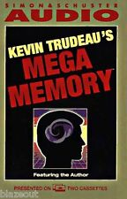 Mega Memory by Kevin Trudeau (1993, Cassette, Abridged)