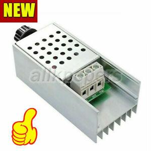 10000W 220V AC SCR Motor Speed Controller Module Voltage Regulator Dimmer+Shell