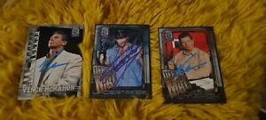 WWE/WWF Vince Mcmahon & Undertaker Autographed Fleer Cards All Access 2002