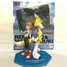 Anime DigimonTamers Renamon & Doujinshi Ruki Set PVC Completed Figure No Box