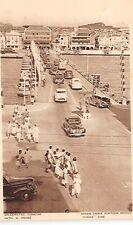 CURACAO, DWI, FONDA SIDE OF QUEEN EMMA PONTOON BRIDGE, CARS, PEOPLE, dated 1950