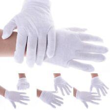 White Work Gloves Cotton Soft Thin Working Handling Gloves Jewellers Handling