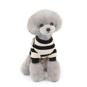 Small Pet Dog Sweater Warm Padded Cat Puppy Jacket Apparel Clothes Winter Coat