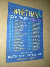POSTER by WHETHAN good nights 2017 tour dates w/ BEARSON opia SAINT WKND ashe *