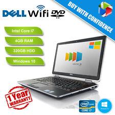 Dell Latitude E6520 Intel Core i7 2.7GHz 4GB RAM 320GB HDD DVDRW