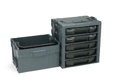 Bosch Sortimo I-Rack 5fach Équipé + Lt-Boxx 272 Anthracite
