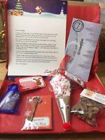 Christmas Eve Box Filler Santa Letter & Key, Hot Chocolate Reindeer, Food & Poop