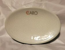 Caro Home Sonnet Blue Glass Soap Dish Soapdish Bathroom