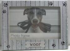 Photo frame 4x6 Dog Theme woof frame New Sealed